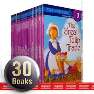 🚚 Step Into Reading Level 3 Collection Boxset Gift ( All Paperback Books and Brand New )