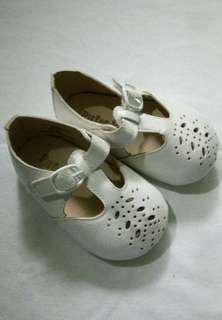 Baby Girl Pitter Pat Vintage White Shoes