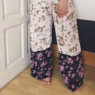 Miss Selfridge Floral Palazzo Pants