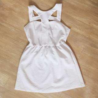 FABSPY Cut-Out Short Dress