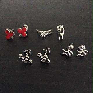 Nickle free earrings