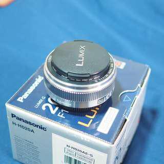Panasonic 20mm f1.7 II (Micro Four Thirds)