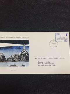 Jersey 1978 Mailboat FDC stamp