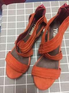 Millie wedge 船踭鞋
