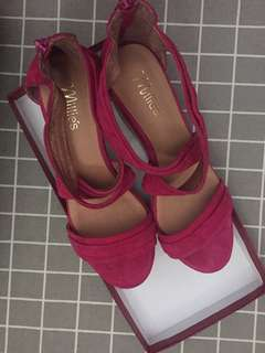 Millie wedge shoes