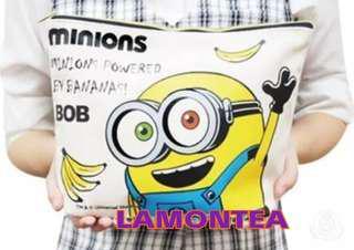 Universal Studios Minions Bob zip bag