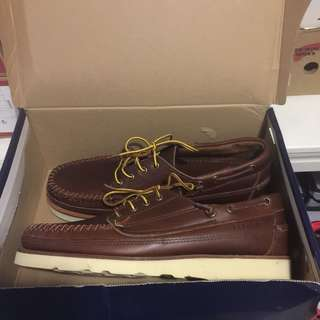 Sebago Vibram Crepe Sole Camp Moc - US11 NEW