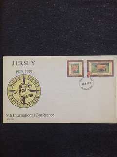 Jersey 1979 Cattle FDC stamps