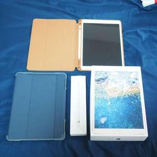 iPad Pro 10.5 (WIFI) 256GB (Silver) + Apple Pencil + Cases