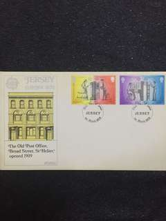 Jersey 1979 Europa FDC stamps