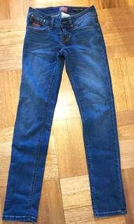 Superdry Denim Slim Jeans (Size 27) (worn only once)