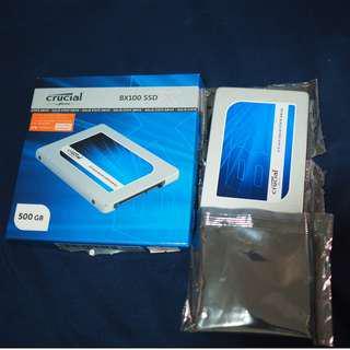 Crucial BX100 SSD 500GB