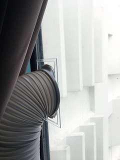 Portable aircon Hose Exhaust Window panel customised