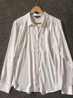Portmans sheer Blouse shirt size 14