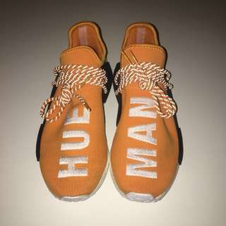 PW HUMAN RACE NMD IN TANGERINE