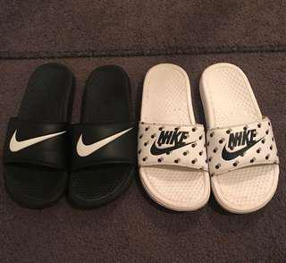 Nike slides (bundle) FREE TRACKED SHIPPING