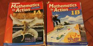 Pearson Mathematics in Action 1A & 1B