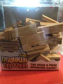 Party games - Drunken tower