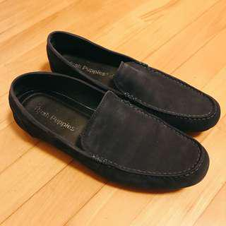 Hush Puppies猄皮橡膠底(只穿兩次) Suede rubber sole loafers