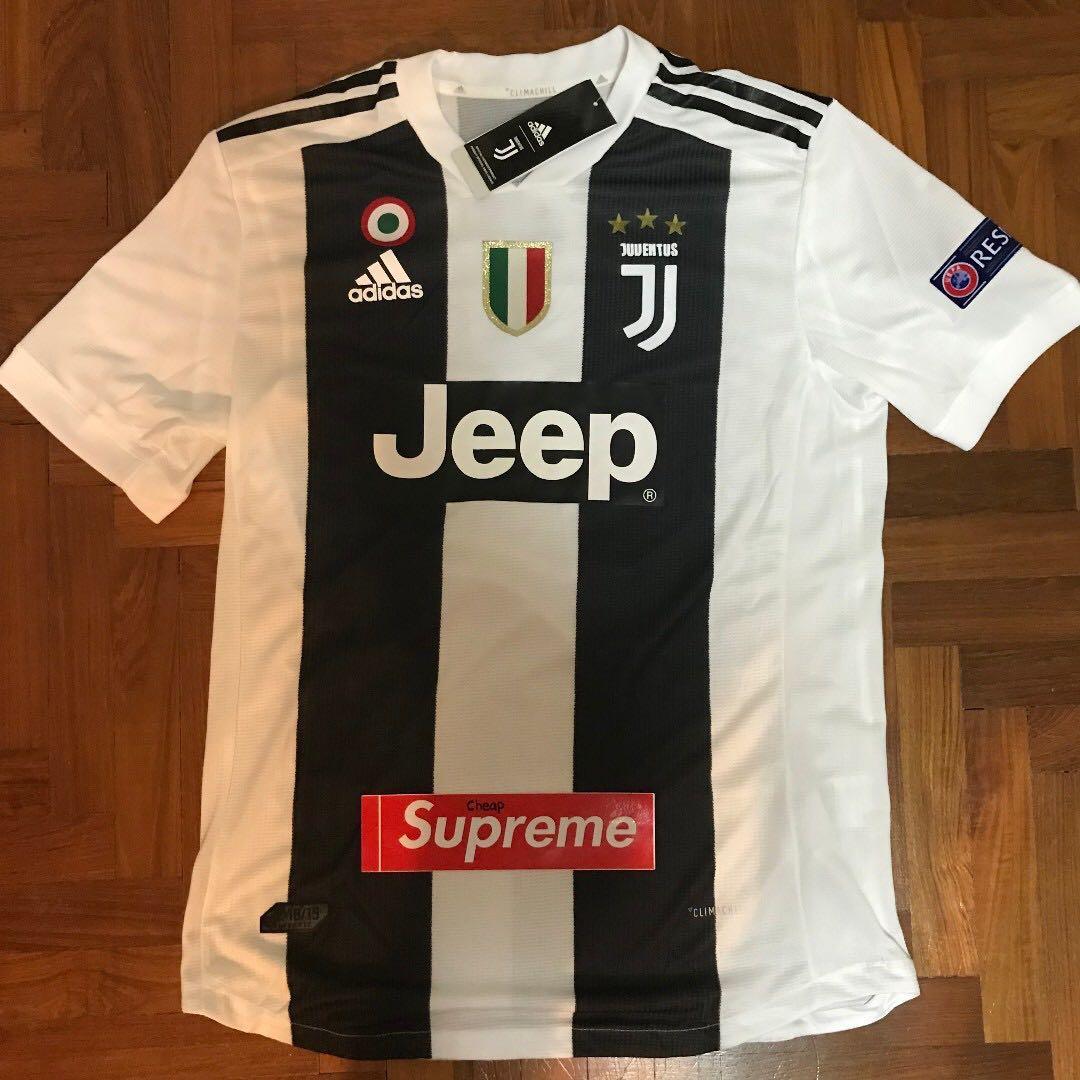 89b378399 18 19 Season Juventus Home Kit Jersey M Size Ronaldo 7