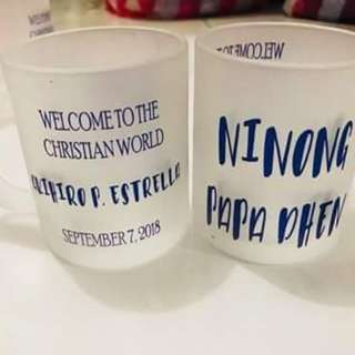 Personalized Frosted Mugs