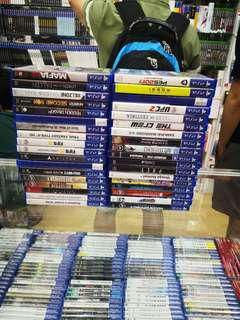 Ps4 Games Used 36pcs rm1000 0124140307 WhatsApp free postage