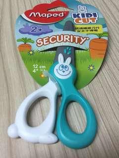 包郵 不議價 小朋友安全剪刀
