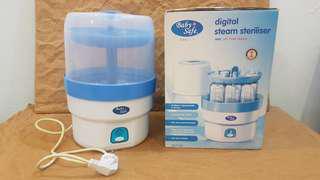 Baby Safe Digital Steam Steriliser