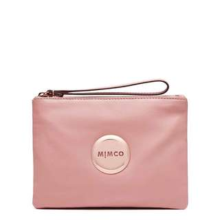 Mimco Lovely Medium Pouch Shell Pink