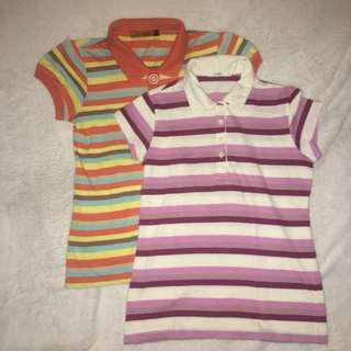 RUSH SALE!! Striped Polo Shirts