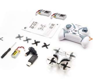 Boldclash B03 pro micro drone with 3 batteries