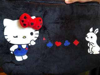 Hello Kitty 毛絨袋