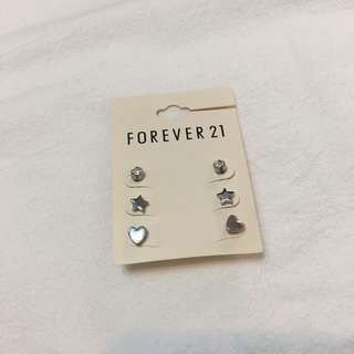 Forever21 耳環組