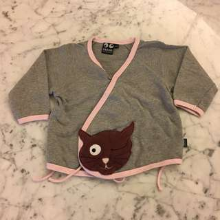 Ubang babblechat cat cardigan