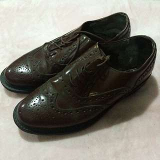 Clark oxford shoes