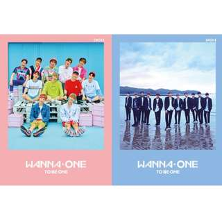 WANNA ONE - (1X1=1) To Be One