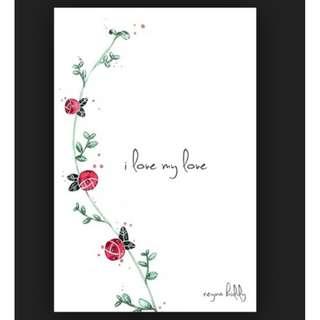 (ebook) I Love My Love Book by Reyna Biddy