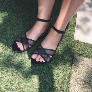 Zalora Mesh Sandals