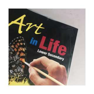 art in life; lower secondary art textbook guide