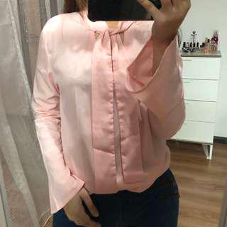 (🆓POSTAGE) Baby Pink Top
