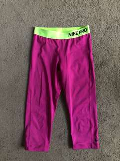 Nike Pro Women's Crop tights, size small