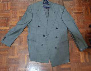 Italian Grey Wool Coat