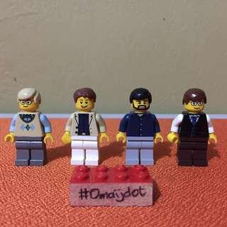 Lego Minifigures City Loose