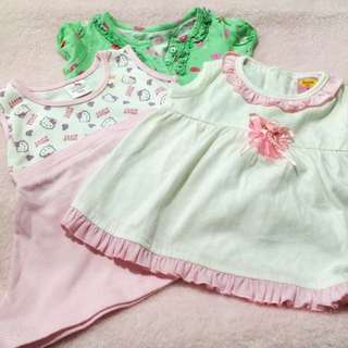 Take all blouses and dress for 0-3mos