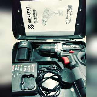 16v Beiter  Cordless Drill. Bought on impulse 😂pm if you're interested! Have a good day!  Condition awesome!