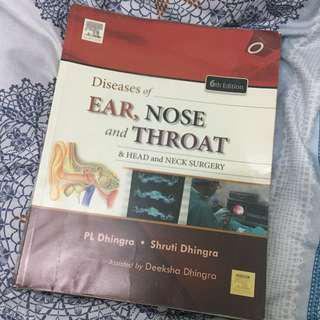 Dhingra Diseases of EAR NOSE AND THROAT