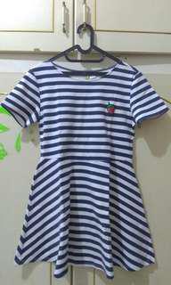 Dress biru H&M size L