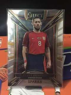 Select-美國前鋒丹比利-限量球衣卡