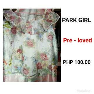 PARK GIRL PRELOVED PHP 100.00