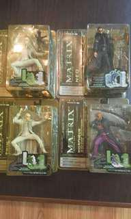 Matrix figures mcfarlene toys